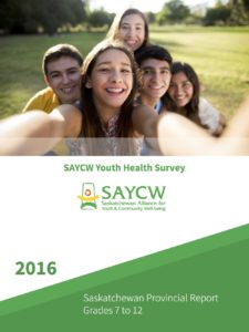 SAYCW 2016 Provincial Youth Health Report